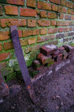 παλαιά σκουριασμένα εργαλεία Στοκ Φωτογραφίες