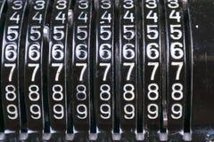 Παλαιά σκουριασμένη αναδρομική μαύρη στάση υπολογιστών σε έναν ξύλινο πίνακα Στοκ φωτογραφίες με δικαίωμα ελεύθερης χρήσης