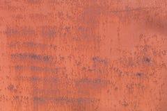 Παλαιά σκουριασμένη επιφάνεια σιδήρου Στοκ Εικόνες