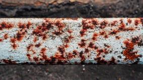 παλαιά σκουριασμένη σύστ&alp Στοκ φωτογραφίες με δικαίωμα ελεύθερης χρήσης