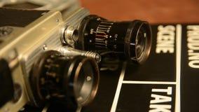 Παλαιά σοβιετικά αναδρομικά ψέματα καμερών ταινιών φιλμ μικρού μήκους