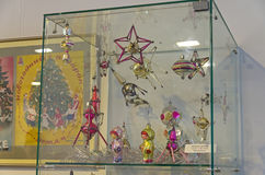 Παλαιά σοβιετικά παιχνίδια Χριστουγέννων Στοκ εικόνα με δικαίωμα ελεύθερης χρήσης