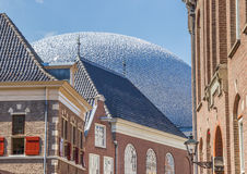 Παλαιά σπίτια και σύγχρονη αρχιτεκτονική στο κέντρο Zwolle Στοκ φωτογραφίες με δικαίωμα ελεύθερης χρήσης