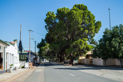 Παλαιά σπίτια σε Philippolis, ελεύθερο κράτος, Νότια Αφρική Στοκ Εικόνα