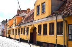 Παλαιά σπίτια στη Δανία Στοκ Εικόνα