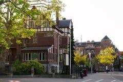 Παλαιά σπίτια στο Άμστερνταμ Στοκ εικόνες με δικαίωμα ελεύθερης χρήσης