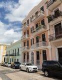 Παλαιά σπίτια του San Juan Στοκ εικόνες με δικαίωμα ελεύθερης χρήσης