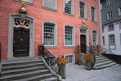 Παλαιά σπίτια Monschau Στοκ Φωτογραφίες