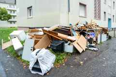 παλαιά σπασμένα έπιπλα Στοκ Φωτογραφία