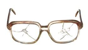 Παλαιά σπασμένα γυαλιά Στοκ Εικόνες