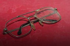 Παλαιά σπασμένα γυαλιά Στοκ Φωτογραφίες