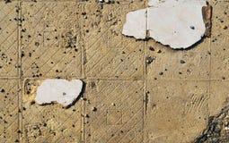 Παλαιά σπασμένα κεραμίδια στοκ εικόνες