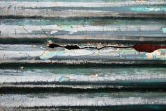 Παλαιά σπασμένη στέγη Στοκ Εικόνα