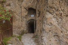 Παλαιά σπηλιά στην Τουρκία Στοκ Εικόνες