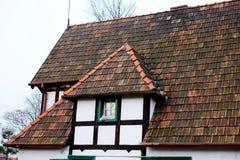 Παλαιά στέγη, βρώμικη Στοκ Φωτογραφία