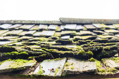 παλαιά στέγη ξύλινη στοκ φωτογραφία με δικαίωμα ελεύθερης χρήσης