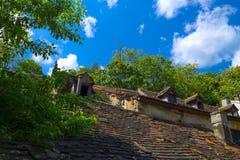 Παλαιά στέγη σπιτιών Στοκ Εικόνα