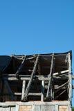 Παλαιά στέγη σπιτιών Στοκ φωτογραφία με δικαίωμα ελεύθερης χρήσης