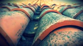 παλαιά στέγη Στοκ Φωτογραφίες