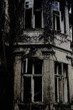 Παλαιά στοιχεία σπιτιών Forsaken Στοκ εικόνα με δικαίωμα ελεύθερης χρήσης