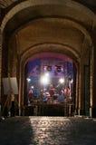 Παλαιά συναυλία κτηρίου Στοκ Εικόνα