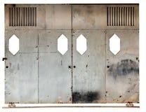 Παλαιά συρόμενη πόρτα Στοκ εικόνες με δικαίωμα ελεύθερης χρήσης