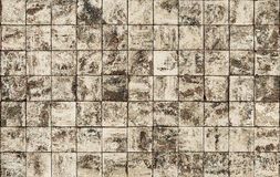 Παλαιά σχέδια κεραμικών κεραμιδιών τοίχων Στοκ φωτογραφία με δικαίωμα ελεύθερης χρήσης