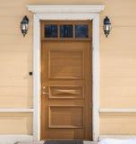 Παλαιά σύνθεση μπροστινών πορτών σπιτιών Στοκ φωτογραφία με δικαίωμα ελεύθερης χρήσης