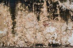 Παλαιά σύσταση ανασκόπησης τοίχων Στοκ φωτογραφία με δικαίωμα ελεύθερης χρήσης