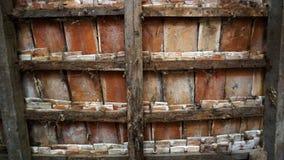 Παλαιά σύσταση κεραμιδιών αγροκτημάτων στοκ εικόνες