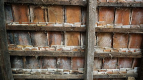Παλαιά σύσταση κεραμιδιών αγροκτημάτων στοκ φωτογραφία με δικαίωμα ελεύθερης χρήσης