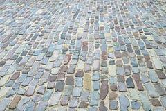 παλαιά σύσταση οδικής σειράς τούβλου Στοκ Εικόνα