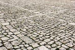 Παλαιά σύσταση πόλης πεζοδρομίων στοκ φωτογραφία