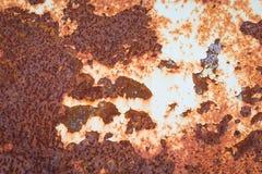 Παλαιά σύσταση σκουριάς σιδήρου μετάλλων Κατάλληλος για το υπόβαθρο, σκηνικό, wa Στοκ φωτογραφίες με δικαίωμα ελεύθερης χρήσης