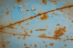 Παλαιά σύσταση σκουριάς σιδήρου μετάλλων Κατάλληλος για το υπόβαθρο, σκηνικό, wa Στοκ φωτογραφία με δικαίωμα ελεύθερης χρήσης