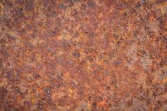 Παλαιά σύσταση σκουριάς σιδήρου μετάλλων Κατάλληλος για το υπόβαθρο, σκηνικό, wa Στοκ εικόνες με δικαίωμα ελεύθερης χρήσης