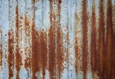 Παλαιά σύσταση σκουριάς σιδήρου μετάλλων Κατάλληλος για το υπόβαθρο, σκηνικό, wa Στοκ Φωτογραφίες