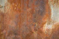 Παλαιά σύσταση σκουριάς σιδήρου μετάλλων Κατάλληλος για το υπόβαθρο, σκηνικό, wa Στοκ Εικόνα
