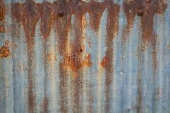 Παλαιά σύσταση σκουριάς σιδήρου μετάλλων Κατάλληλος για το υπόβαθρο, σκηνικό, wa Στοκ Εικόνες
