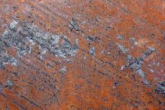 Παλαιά σύσταση σκουριάς σιδήρου μετάλλων Στοκ εικόνες με δικαίωμα ελεύθερης χρήσης