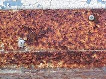 Παλαιά σύσταση σκουριάς σιδήρου μετάλλων/backgroun Στοκ φωτογραφίες με δικαίωμα ελεύθερης χρήσης