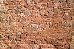 Παλαιά σύσταση τοίχων πετρών γεφυρών απεικόνιση αποθεμάτων