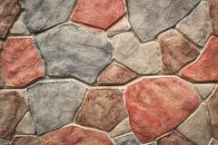 Παλαιά σύσταση τοίχων τούβλων πετρών τοίχων Στοκ Εικόνες