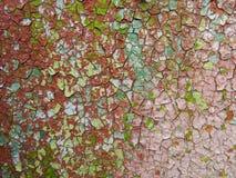 παλαιά σύσταση χρωμάτων Στοκ Φωτογραφία