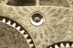 Παλαιά σύσταση grunge των εργαλείων χάλυβα Μακροεντολή Σέπια Στοκ φωτογραφίες με δικαίωμα ελεύθερης χρήσης