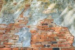 Παλαιά ταπετσαρία τούβλου Στοκ Εικόνες