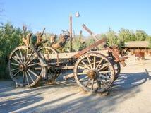 παλαιά ταχυδρομική άμαξα στοκ εικόνες