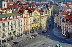 παλαιά τετραγωνική πόλη της Πράγας Στοκ εικόνες με δικαίωμα ελεύθερης χρήσης