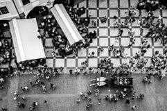 παλαιά τετραγωνική πόλη της Πράγας Στοκ Εικόνες