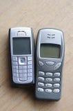 Παλαιά τηλέφωνα της Nokia Στοκ Εικόνες